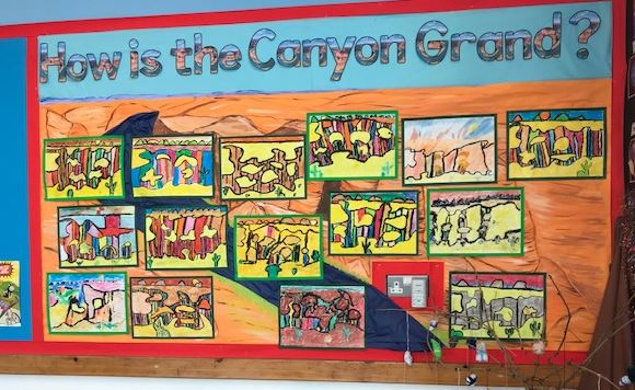 4F Grand Canyon artwork